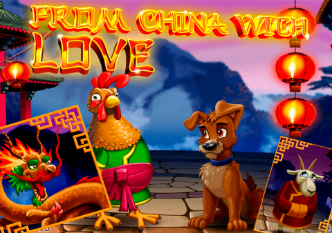 From China with Love slot game Featured image