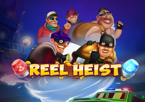 Reel Heist slot game Featured image