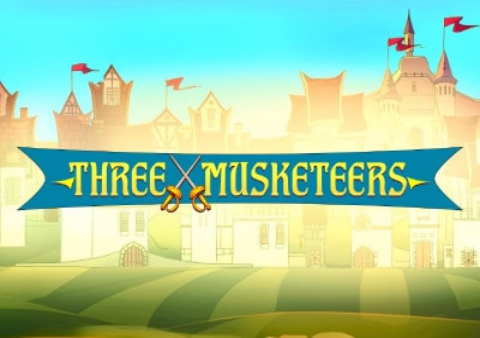 Three Musketeers slot game Featured image