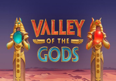 Valley of the Gods slot game Featured image