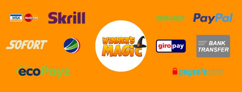 winners magic casino payment methods - winners magic casino review