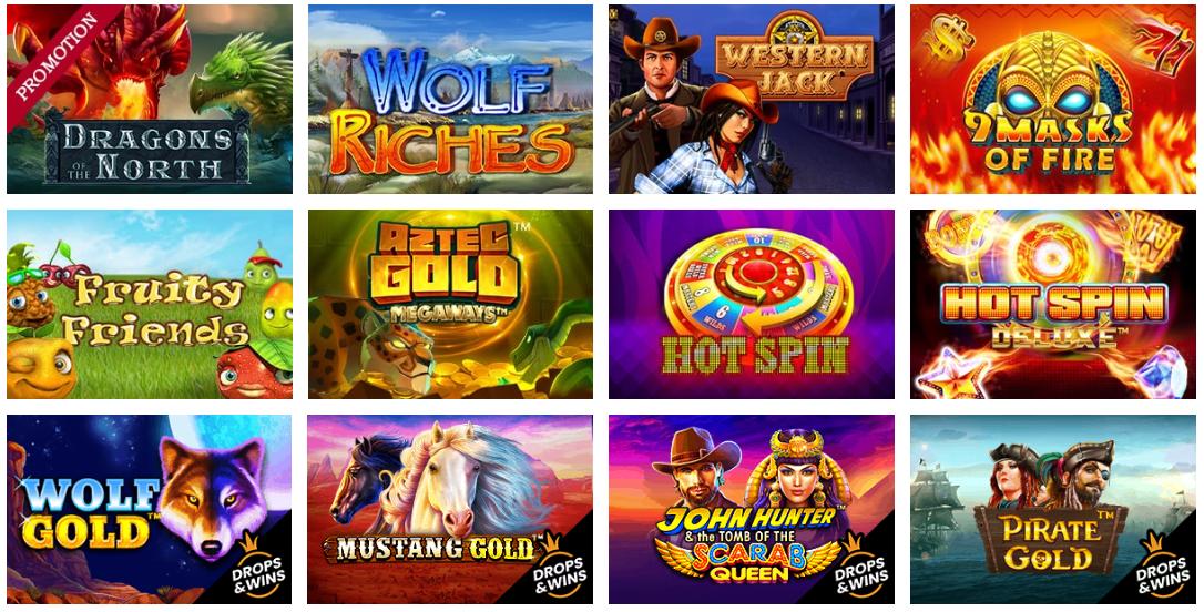 winners magic online casino slot games