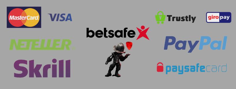 betsafe casino payment methods - skrill visa mastercard neteller paypal