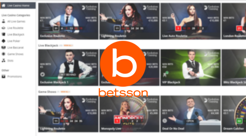 betsson live casino - roulette blackjack dream catcher