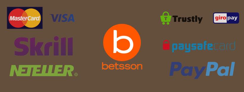 betsson casino paypal - payment options skrill neteller giropay