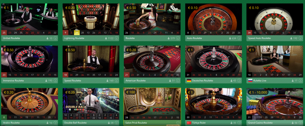 casino game provider evolution gaming - play roulette online live