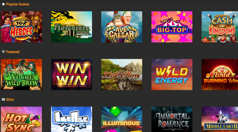 casino slots - win win wild energy hot sync big top