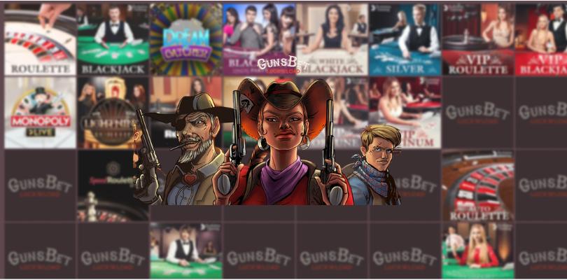 gunsbet casino no deposit - live casino blackjack roulette money wheel