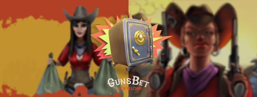 gunsbet online casino - two sheriff girls - money