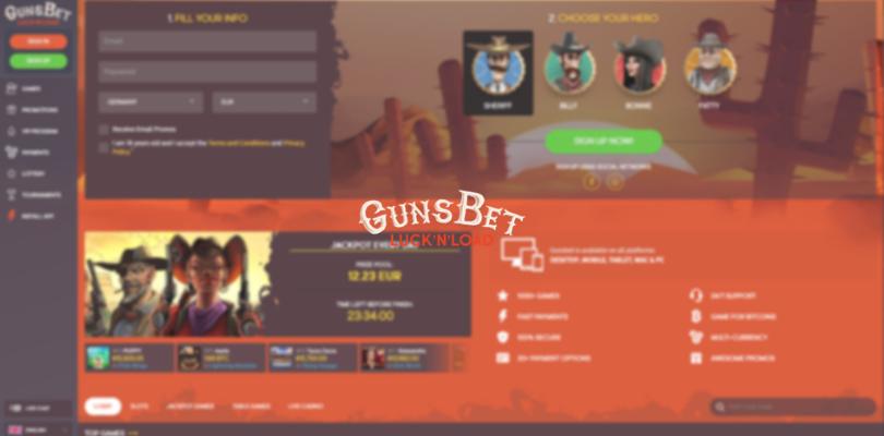 is gunsbet legit - front page