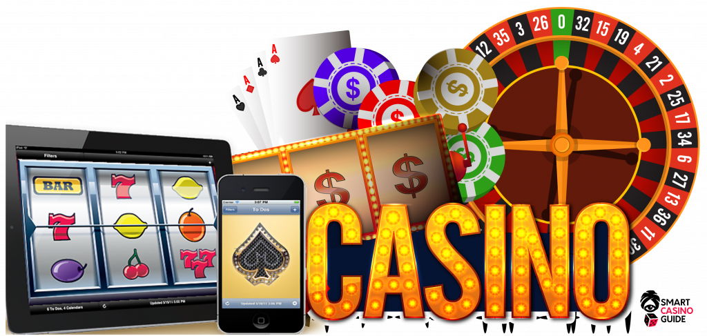 roulette, slots, poker - mobile casino gaming
