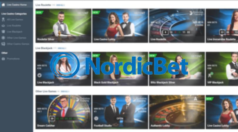 nordicbet live casino - roulette blackjack dream catcher