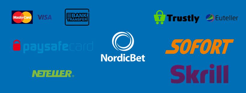 nordicbet review - payment options skrill neteller sofort trustly paysafecard