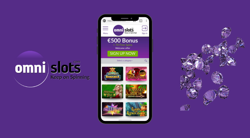 omni slots casino mobile app - android iphone