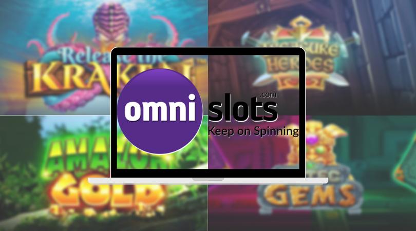 omni slots casino review - release the kraken gems treasure
