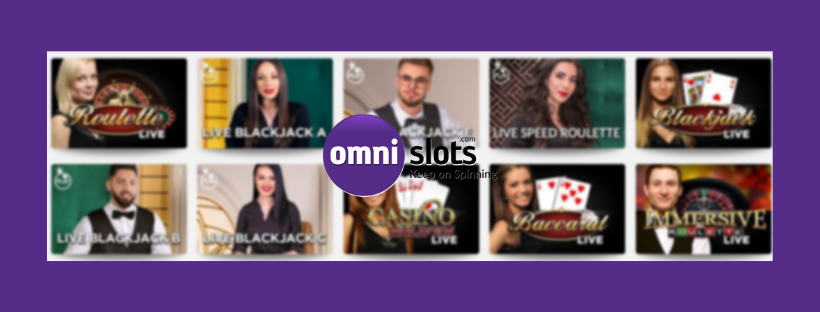 omni slots live casino - blackjack roulette