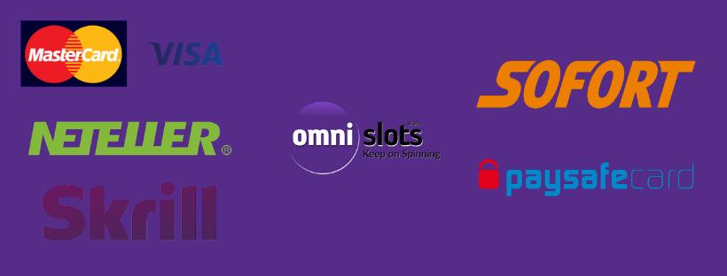 omnislots payments options