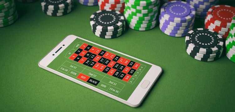 smartphone, chips, casino roulette - roulette online with real money