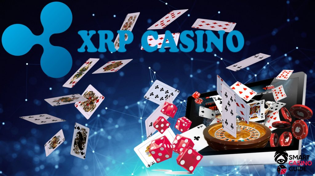 text - XRP casino - roulette, cards, computer