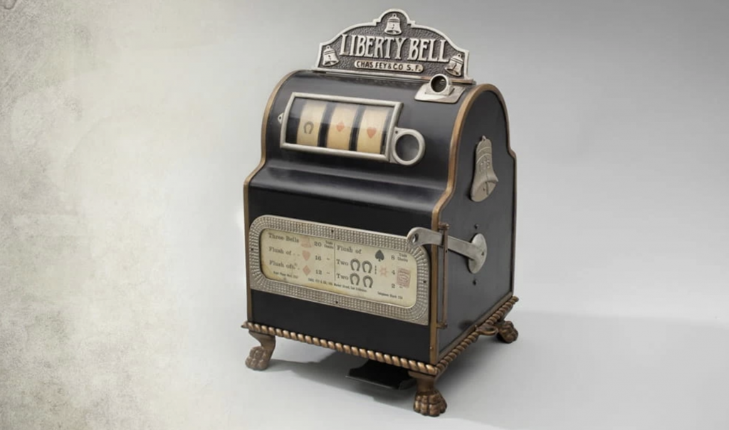 gambling facts - the Liberty Bell first slot machine