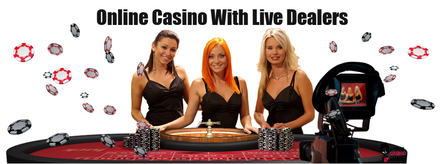 online casino with live dealers - three girls