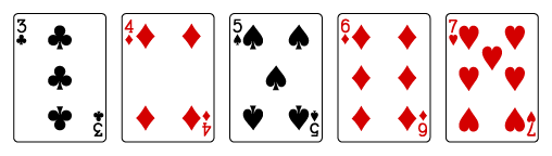 how to play video poker-straight