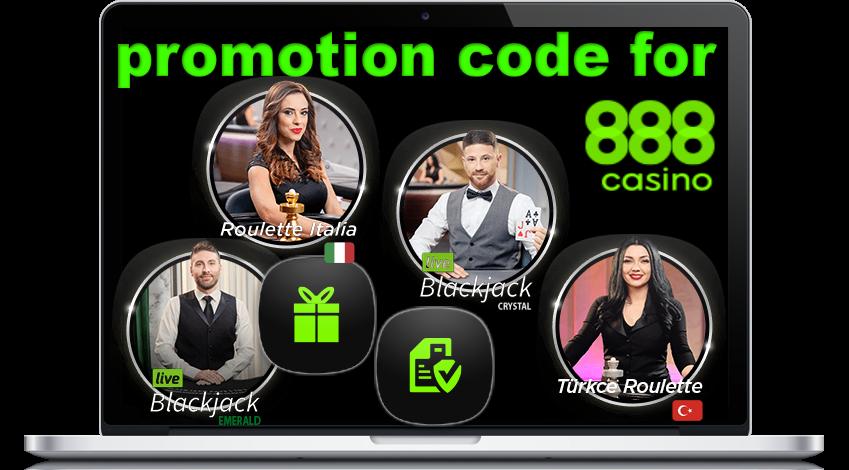 888 Casino Promotion Code