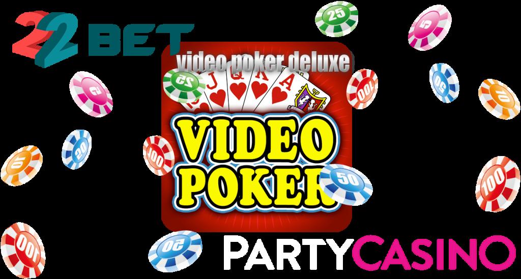 video poker deluxe, casinos - 22bet, partycasino