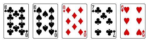 video poker rules for beginner-one pair