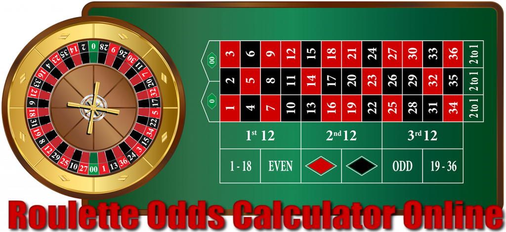 Roulette wheel odds calculator online