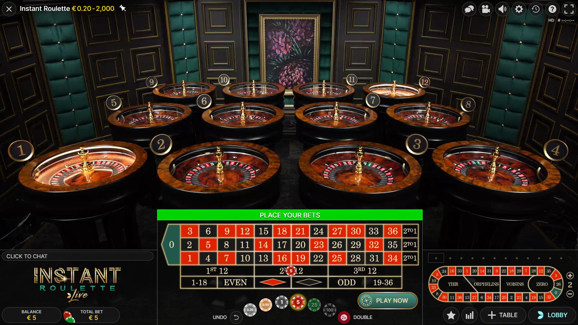 gameplay roda roulette instan tempatkan taruhan Anda 12 roulette mainkan sekarang