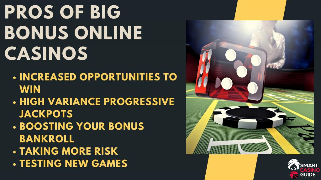 Online Casino Big Bonuses