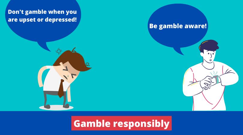 berjudi berhati-hatilah jangan berjudi ketika Anda sedang kesal atau depresi melihat arlojinya