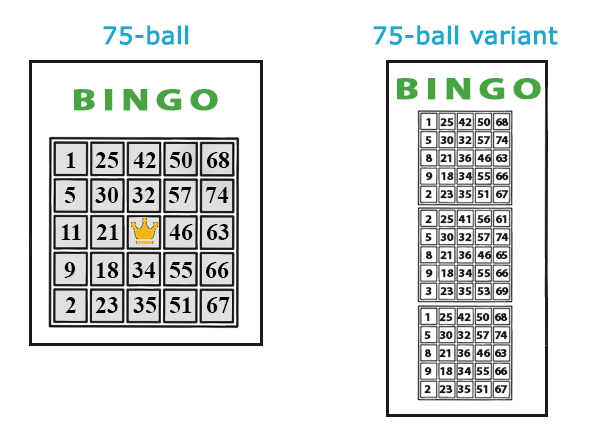 Standard bingo rules How to play bingo at a casino Bingo online 90 75 ball
